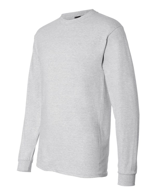 123f7d523 Custom Hanes Beefy-T Long-Sleeve T-Shirt (5186): Instant Quote ...