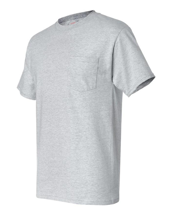 6af76dd3f Hanes Beefy-T Pocket T-Shirt (5190P) Sizing Guide   CreateMyTee