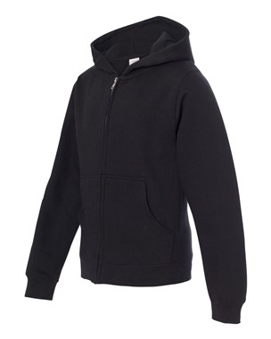 Independent Trading Company Youth Midweight Zip-Up Hoodie