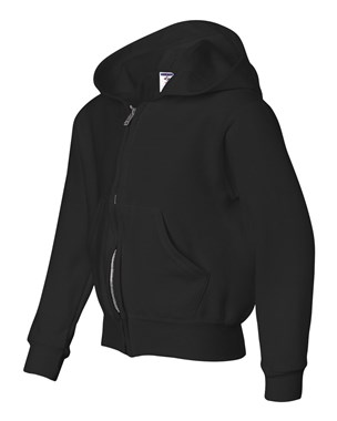 Jerzees NuBlend Youth Full-Zip Hoodie