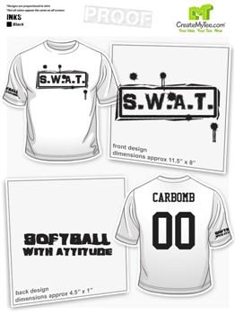 Softball Team T Shirts Custom Softball Shirts CreateMyTee