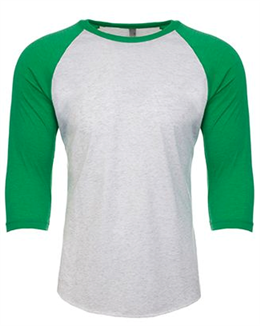Next Level Tri-Blend 3/4-Sleeve T-Shirt