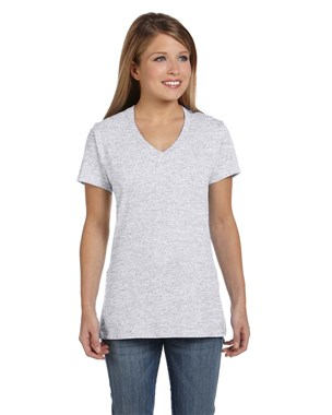 Hanes Ladies' Nano-T V-Neck T-Shirt
